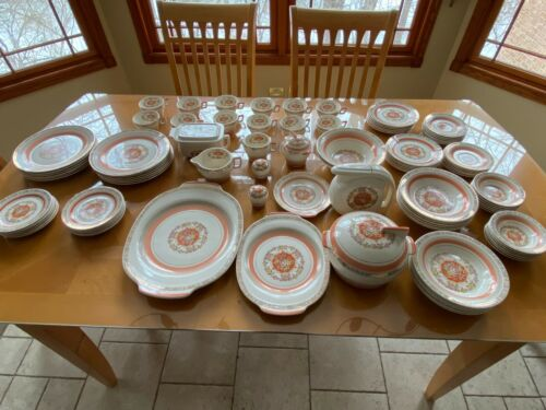 Triumph American Limoges Prince Charles T Warranted 22k Gold Dinner Set Service
