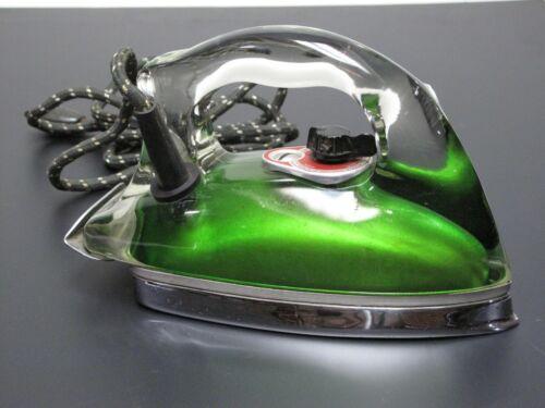 1940s Vintage Saunders Silver Streak Iron (GREEN) VERY RARE