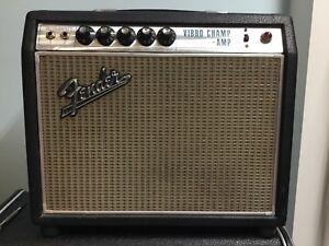 1968 Fender Vibro Champ Amp