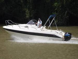 cruiser near new condition ,boat 2 hours use ,motor only 65hrs , Lockrose Lockyer Valley Preview