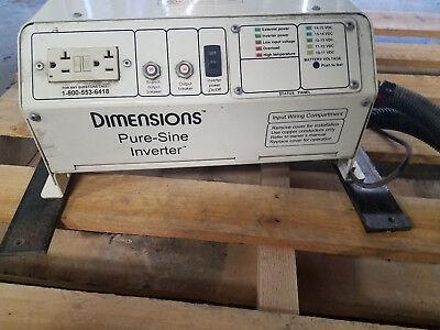 DIMENSIONS PURE SINE INVERTER 1800 WATT WITH CABLES 1800 Watt 12v Inverter