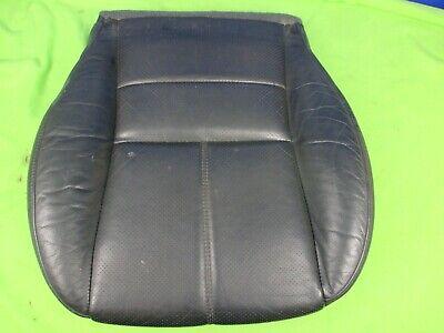 Mercedes ML W163 Sitzkissen Sitzpolster schwarz Leder Sitzheizung Belegungsmatte