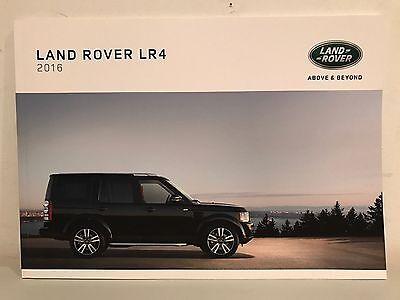 2016 Land Rover Lr4 Brochure  Lr4 Lr4 Hse Lr4 Landmark Land Rover Lr4