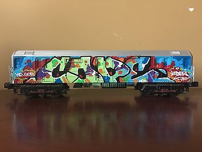 Cope2 Original Brooklyn Bronx 4 Train Painted Limited Model Graffiti Seen Twist