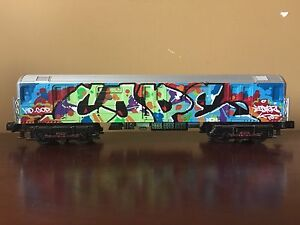 Cope2 Original Brooklyn Bronx 4 train Painted limited model Graffiti seen twist