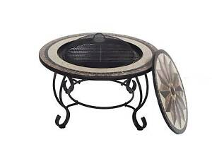 30in Fire Pit BBQ Table Fireplace Heater Brazier with Rain cover Thomastown Whittlesea Area Preview