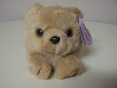 Puffkins Plush HONEY Light Brown Bear Plush #6602 SWIBCO Birthdate 3-27-97 NWT