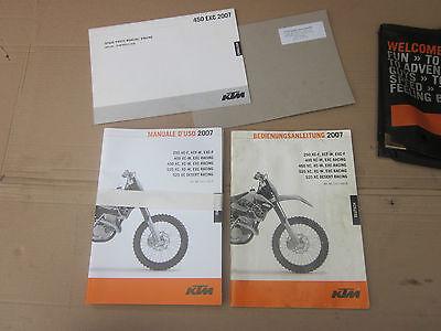 KTM EXC-f EXC 2007 Tasche Tragetasche Dokumententasche Bedienungsanleitung