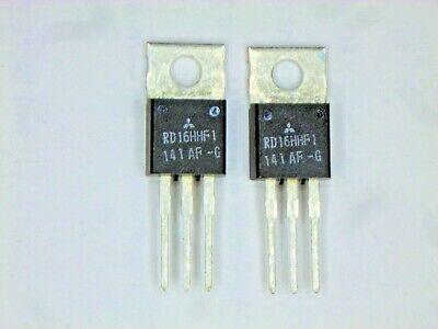Rd16hhf1 Original Mitsubishi Rf Mosfet Transistor 2 Pcs
