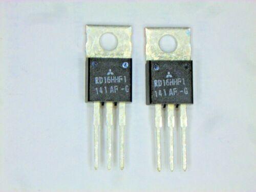 "RD16HHF1 ""Original"" Mitsubishi RF MOSFET Transistor 2  pcs"