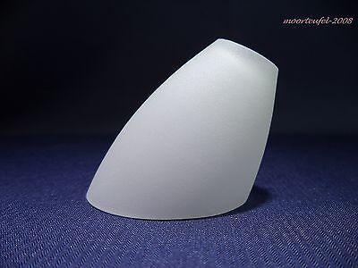 Ersatzglas Lampenschirm Lampenglas Leuchtenglas Glastulpe G4 Opalglas weiß matt