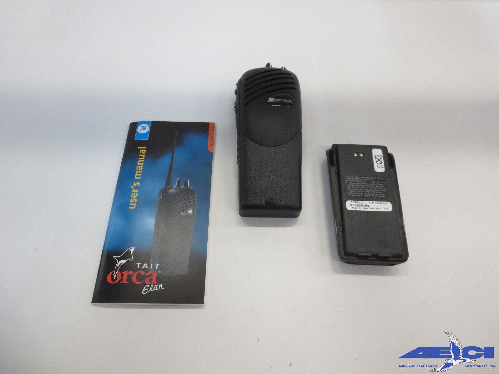 Ericsson Gt400utx Cougar 400p Mpt1327 Portable Radio Freq...