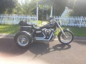 Harley davidson dyna streetbob trike