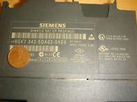 Siemens Simatic S7 6GK7342-5DA02-0XE0 SIMATIC NET usato CP PROFIBUS