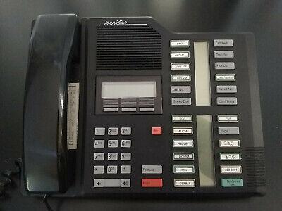 Vintage Black M7324 Nortel Norstar Meridian M7324 Homeoffice Phone