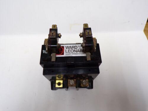 WARD LEONARD ELECTRIC CO. CONTACTOR, CAT NO. 7000-7140 40AMPS, 240V. DC. 10A