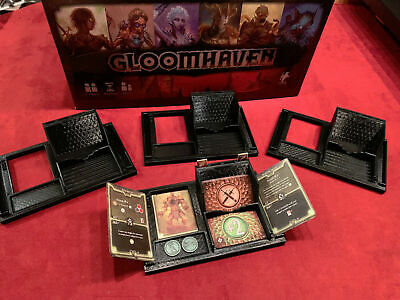 Gloomhaven 3D Print Player Dashboard Organizer -Set of 4- Board Game Accessory