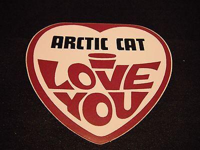 "6/"" Arctic Cat Green Cat Vintage Emblem Decal Sticker Laminated #m196 1"