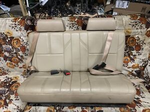 Fourth (4th) row bench seat from 2008 suburban