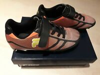 FILA Track /& Field Spikes Running Shoes ~ White w// Orange /& Blue ~Size 11.5 A8