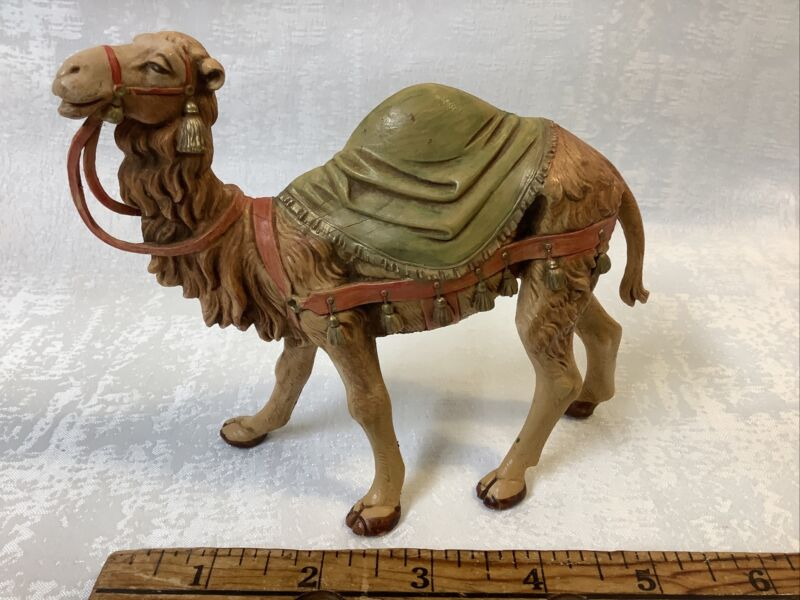 """Vintage FONTANINI Depose CAMEL 1992 5"""" Nativity Figure Made In ITALY"""