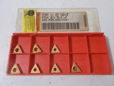 7 Nib Sandvik Tcmt 21.51-uf 435 Carbide Inserts Tcmt 11 02 04-uf 435