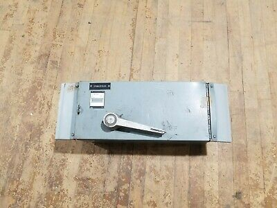 Westinghouse Fdps 364r Panelboard Disconnect Switch 200 Amp 3 Pole 600vac Fuses