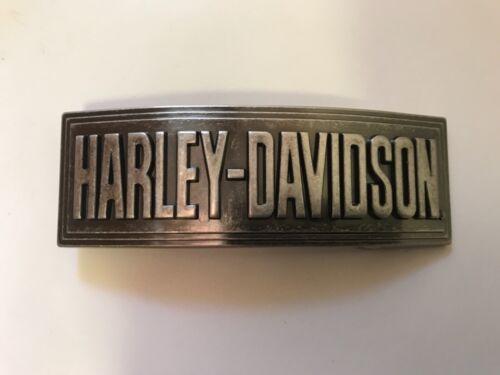 Harley-Davidson men's rare collectable belt buckle.#99438-05V.Antique nickel.