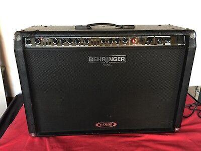 Behringer V-Tone Model GMX212 combo amp power. 2x60 watt (Behringer Guitar Amplifier)