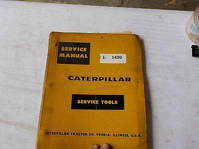 Cat Service Tools Service Manual