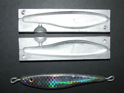 ALLOY GILL PIRK FISH WEIGHT MOULD 12oz WRECK BOAT COD BASS SEA FISHING LEADS