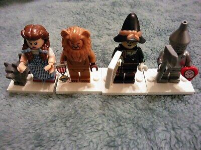 LEGO The Lego Movie 2 Wizard Of Oz Minifigures Dorothy Lion Scarecrow Tin man