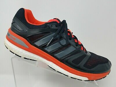 Adidas Supernova Sequence Boost Mens Running Shoe Size 12 Black Orange  ()