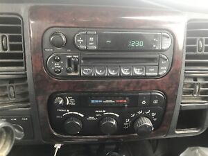 Deck and control switches wanted for a 2002 Dodge Durango slt