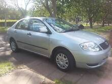 2002 Toyota Corolla Sedan Greenway Tuggeranong Preview