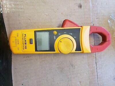 Fluke 335 Digital Clamp Meter True Rms 600v Catiii Used Tested