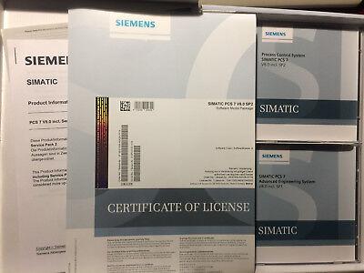 6es7658-4xx08-0yt8 Siemens Pcs7 Version 8.0 Sp2 Software Med.pack. Mit Lizenzen