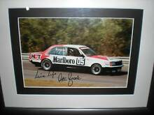 Peter Brock VC Commodore signed and framed Murray Bridge Murray Bridge Area Preview