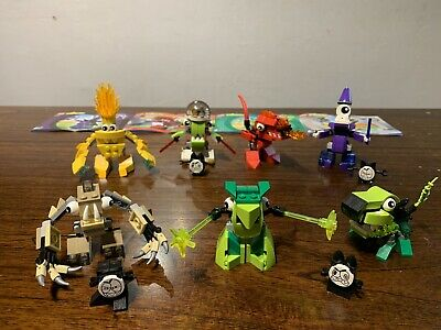 LEGO MIXELS Lot of 7, 41508 Volectro, 41530, 41525, 41523, 41520, 41519, 41527
