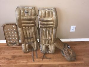 Vintage Cooper Goalie Gear PADS ONLY