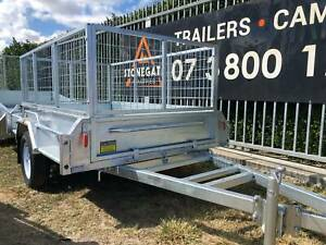 New Galvanised 7x5 Tipper Caged Box Trailer For Sale 750KG ATM Biggera Waters Gold Coast City Preview