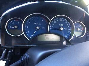 HOLDEN MONARO VY CV8 CV8Z CLUSTER SPEEDO GTO GTS Miranda Sutherland Area Preview
