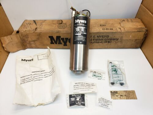 """New Myers 4"""" Submersible Water Well Pump Motor 3 Wire 230V, 1/2 HP Free Shipping"""