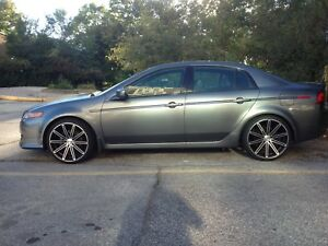"2004 Acura TL Dynamic Package 20"" Touren Rims!"