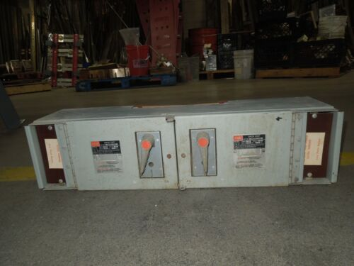 Fpe Qmqb1136r 100/100a 3p 600v Twin Fusible Switch Unit Used