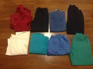 6 Bags of Clothes, Shoes, Bags, Bras, Makeup, etc. Qty 93 items