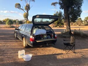 Ford Falcon Futura with build in bed and camping stuff