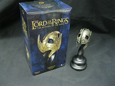 LORD OF THE RINGS GALADHRIM WAR HELM! SIDESHOW WETA! RETURN OF THE KING!