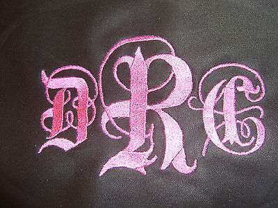 Free Personalizing Suitable for framing embroidery wall hanging-names/monograms