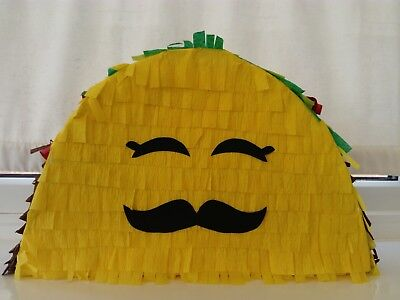Taco Piñata Party Mexican Birthday Game Smash pop boy girl - Taco Pinata